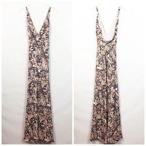House of Harlow x Revolve Floral Maxi Dress XL